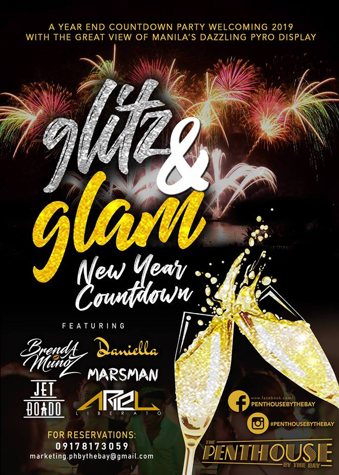 Glitz & Glam New Year Countdown - Penthouse By The Bay