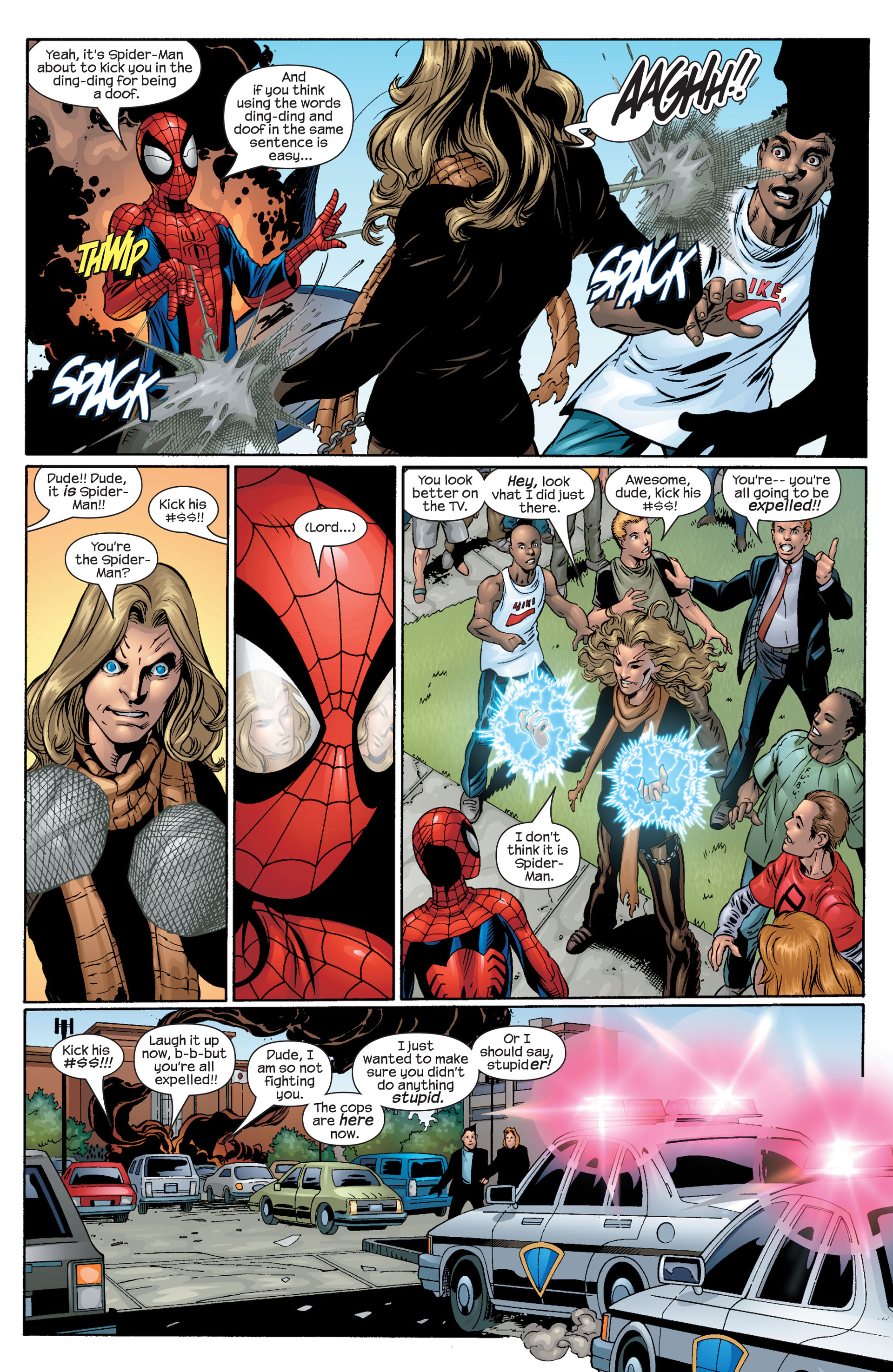 Read online Ultimate Spider-Man (2000) comic -  Issue #42 - 6