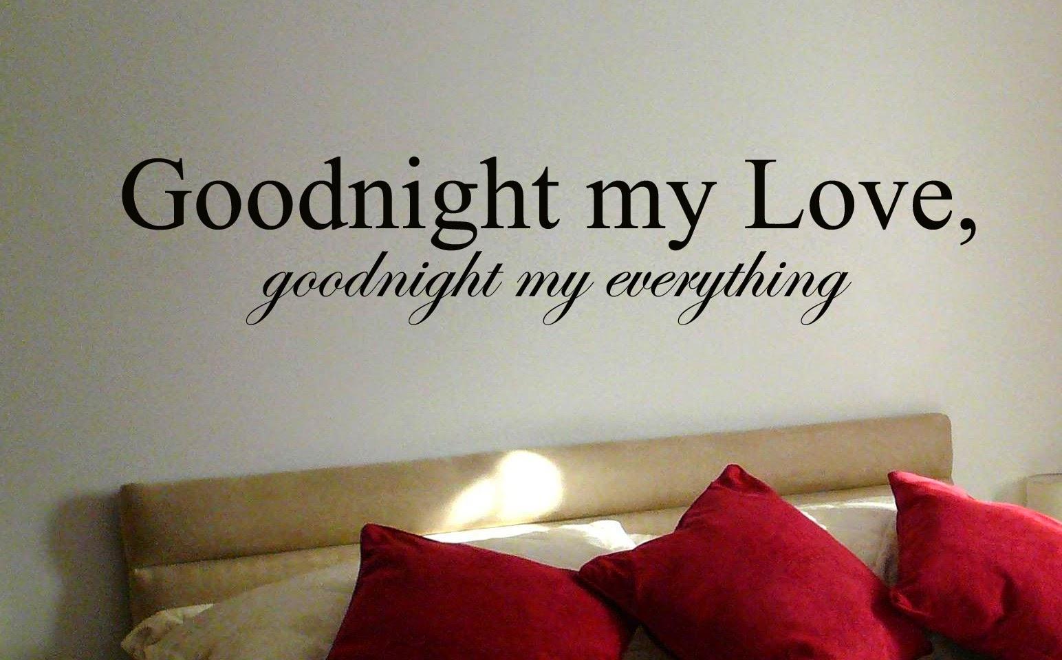 Imagenes con frases de buenas noches amor en ingles