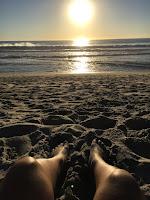 Vanessa Lim at Mission Beach, San Diego. Fil-Am, Filipina-American