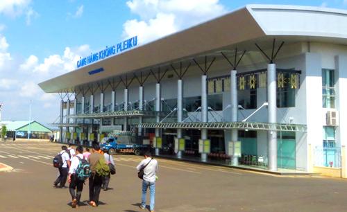 Gia Lai: Nhiều hành khách không lấy được hành lý ở sân bay Pleiku
