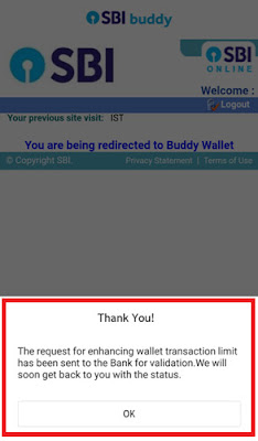 how to upgrade your sbi buddy wallet