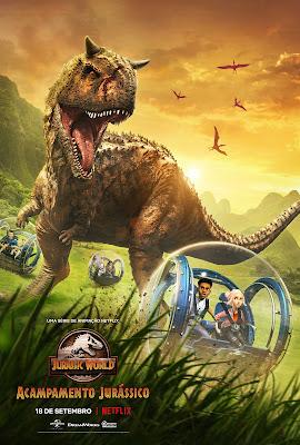 Jurassic World: Acampamento Jurássico | Confira o trailer