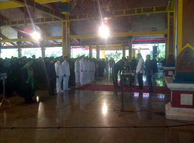 765 Pejabat Pengawas dan Administrator Dilantik Bupati Bangkalan