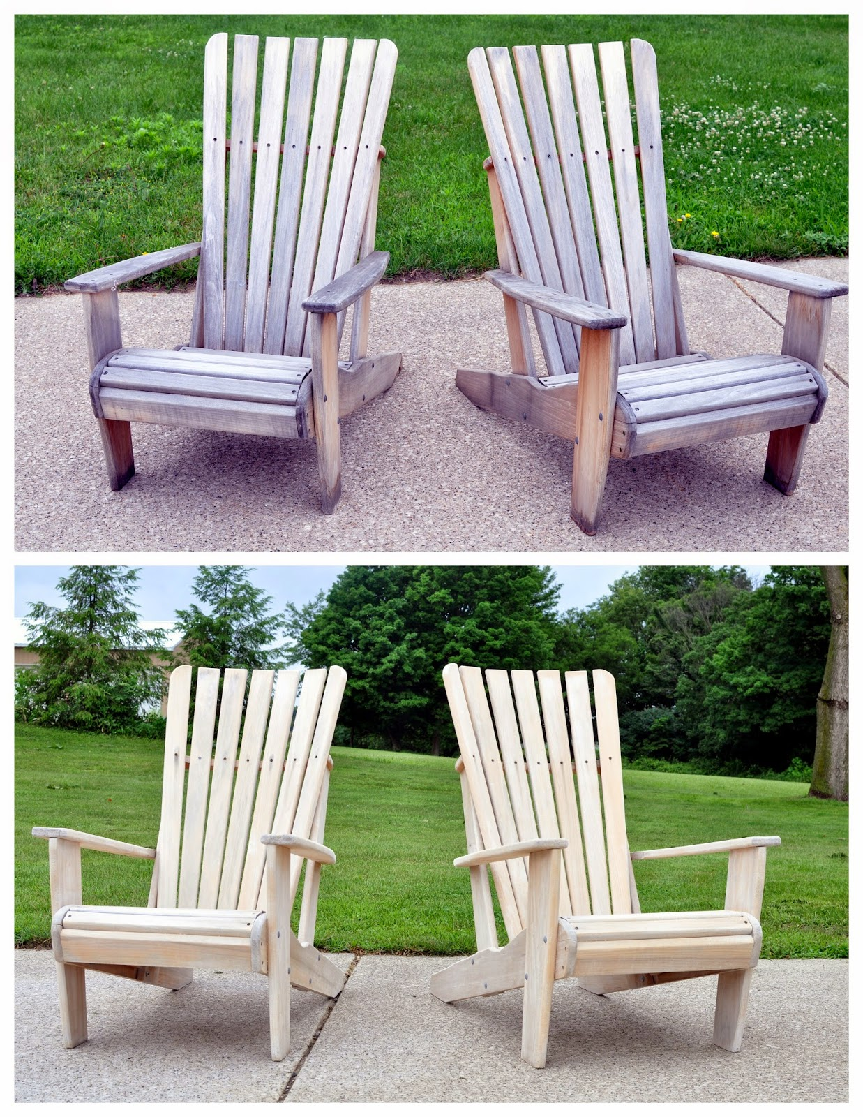 Weatherproof Adirondack Chairs A Nurse And A Nerd Weather Proofing The Adirondacks