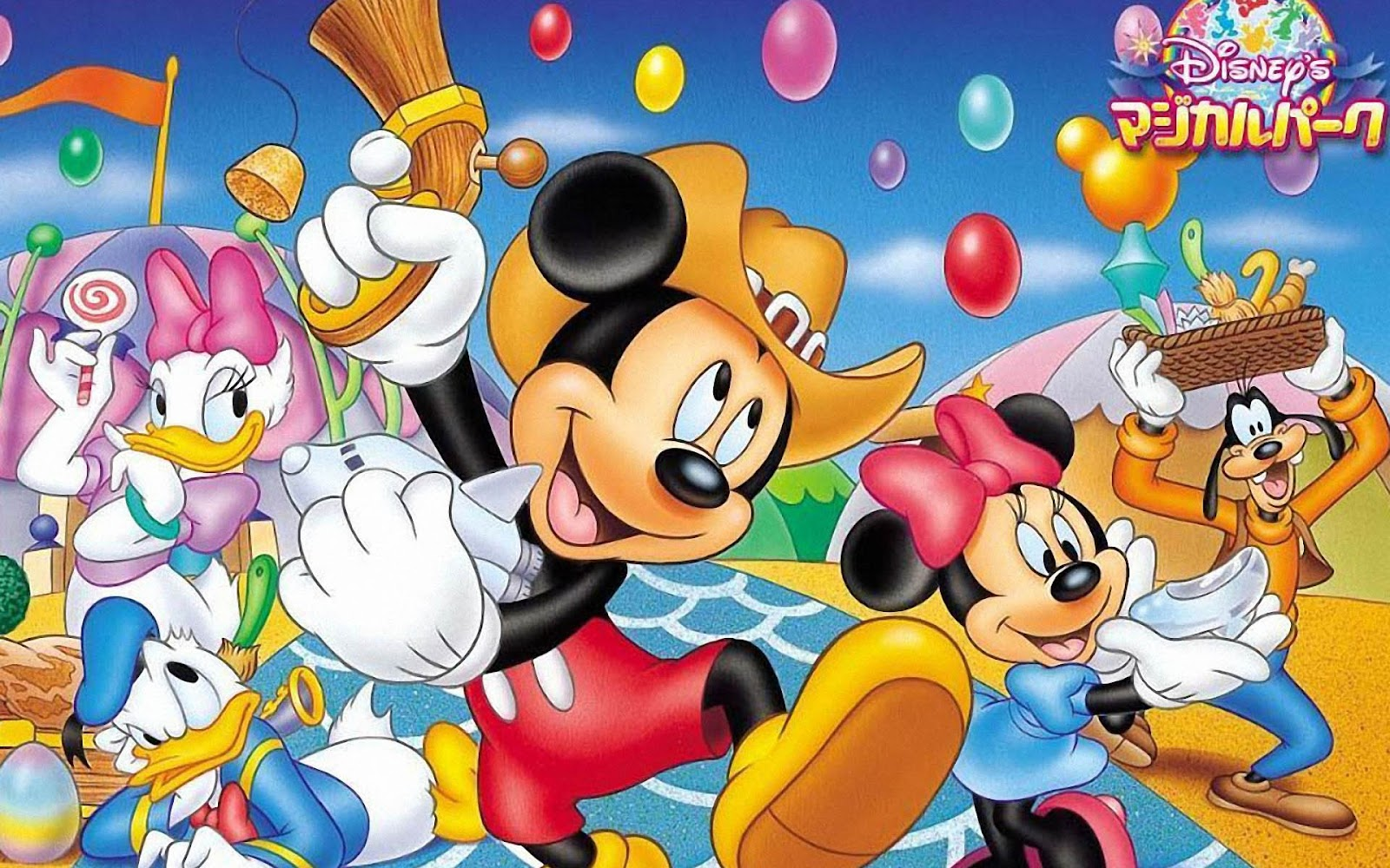 Gambar Mickey Mouse Lucu Lengkap Kumpulan Gambar Lengkap
