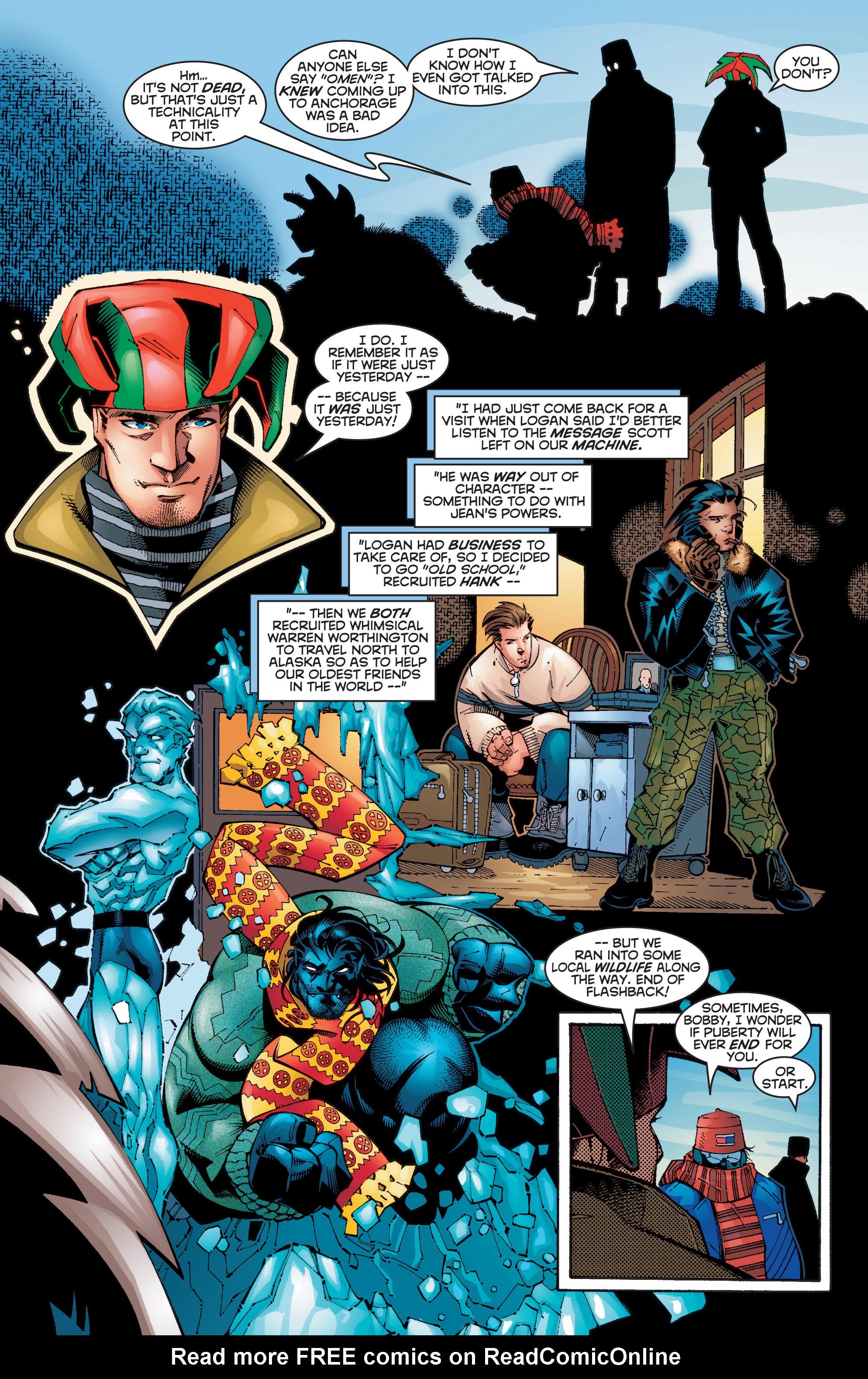 Read online Uncanny X-Men (1963) comic -  Issue #356 - 5