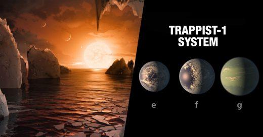 La NASA encuentra un sistema solar con siete planetas como la Tierra
