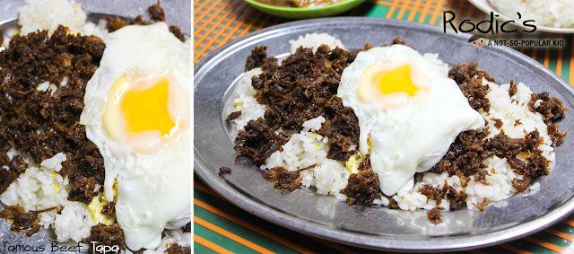Famous Beef Tapa of Rodic's Diner