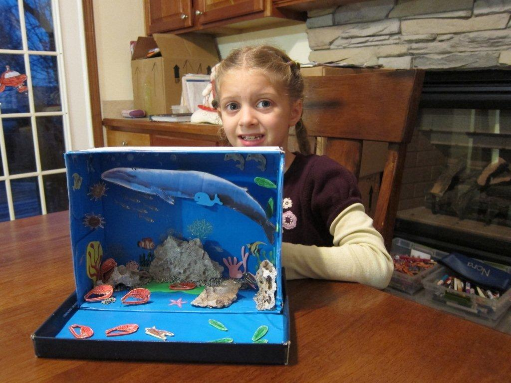 Kids Diorama With Details: Minorhappenings: Nora's Habitat Diorama