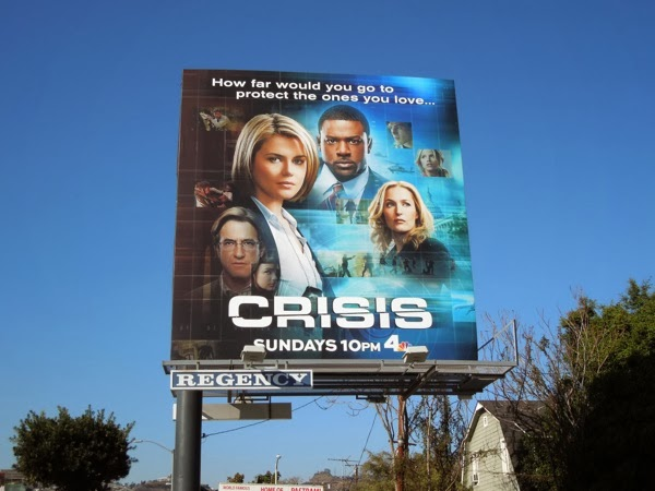 Crisis NBC billboard