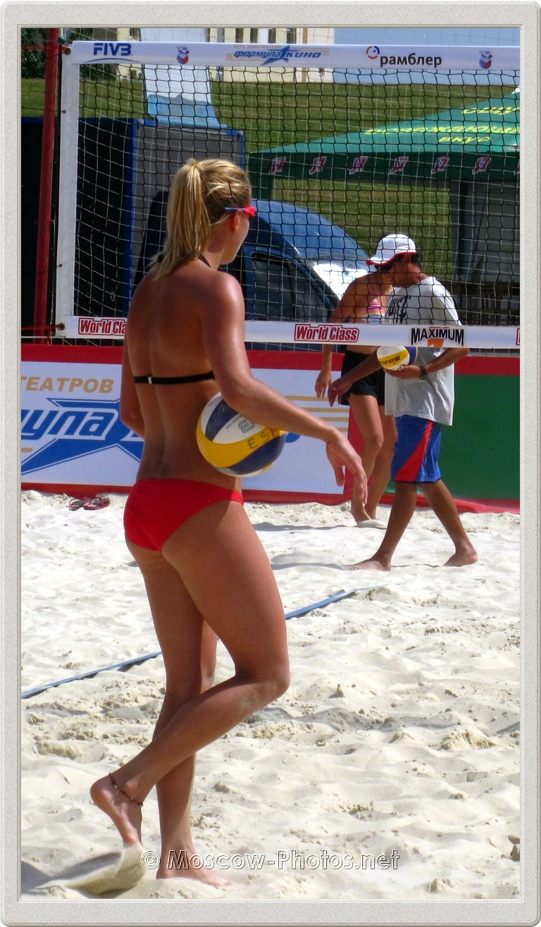 Beach Volley Player Marketa Slukova