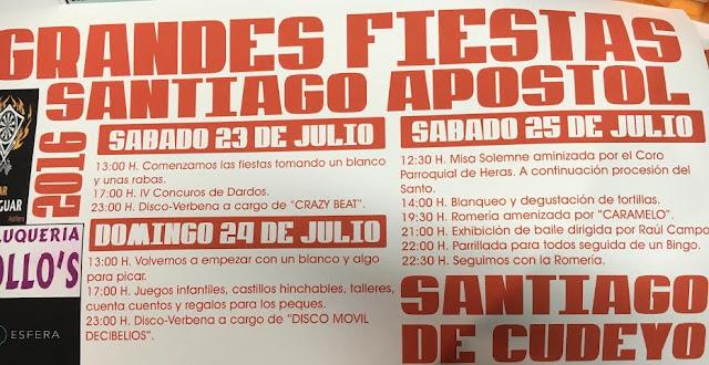 Fiestas de Santiago Apostol 2016 en Santiago de Cudeyo