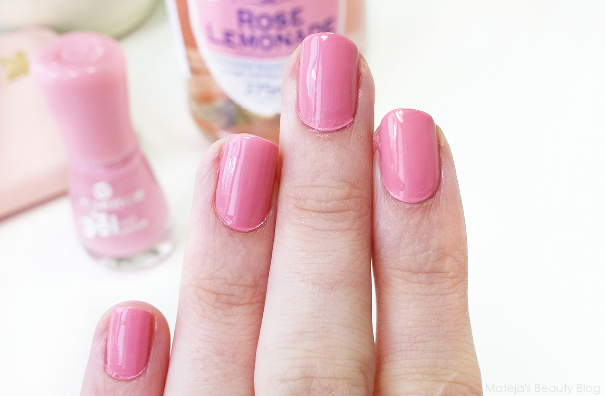Essence The Gel Nail Polish 13 Forgive Me - Mateja\'s Beauty Blog