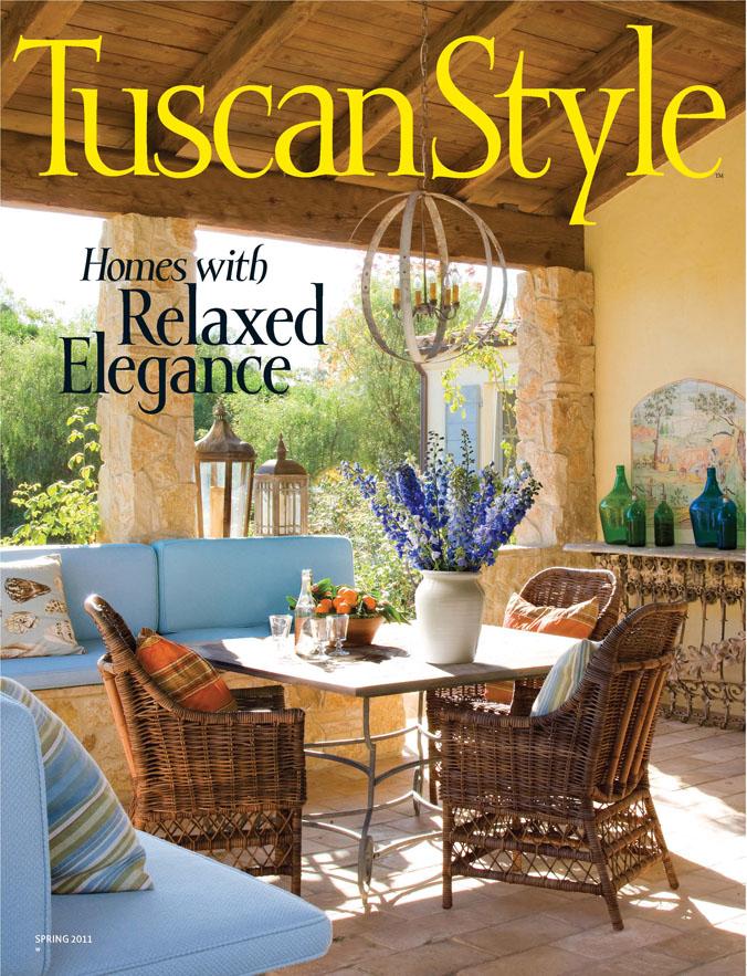 Tuscan Style Magazine ~ Fleur De List Home Decor