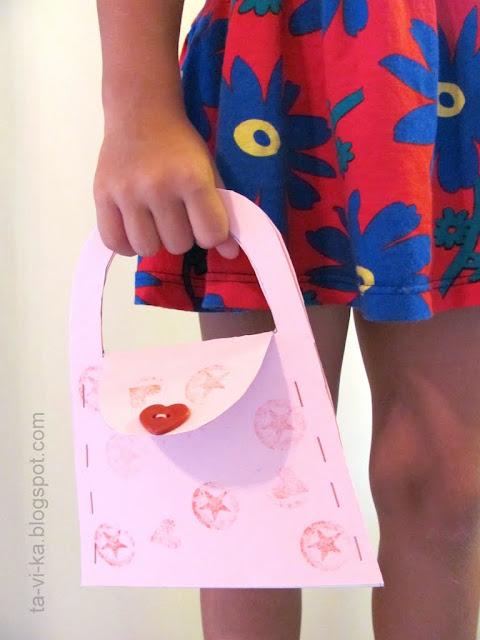 сумка из бумаги paper bag