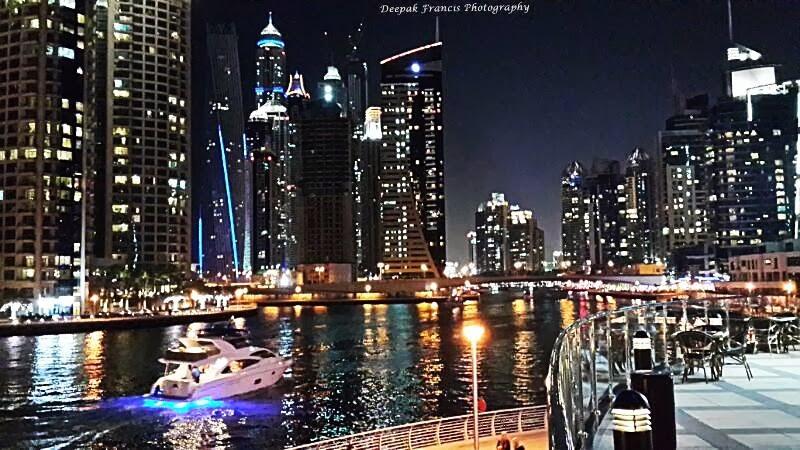 Stunning Night View Of Dubai Marina Dubai And Abu Dhabi