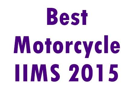 Sepeda motor peraih penghargaan di IIMS 2015