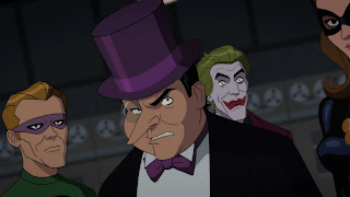 Penguin, Joker, Riddler and Catwoman in Batman: Return of the Caped Crusaders DVD Blu-Ray