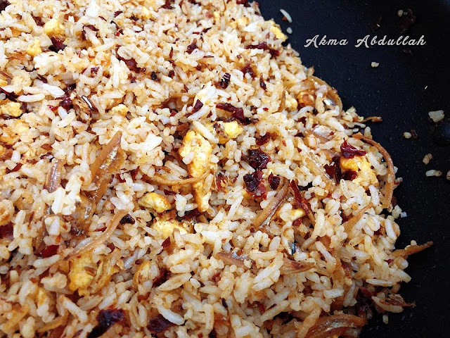 Resepi Nasi Goreng Cili Kering | www.resepisenang.com