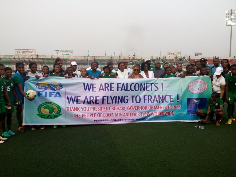 U-20 WWCQ: Falconets hammers South Africa to secure qualification ticket