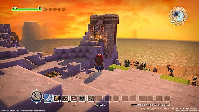 dragonquest builders フリービルドモード 鷹の目の見張り台
