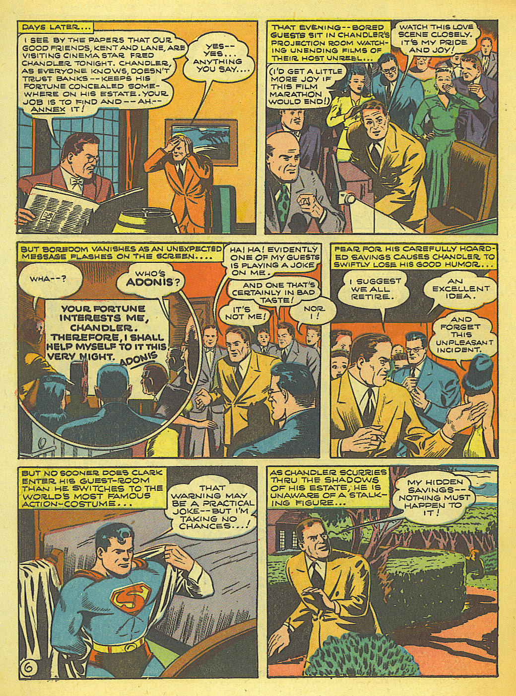 Read online Action Comics (1938) comic -  Issue #58 - 7