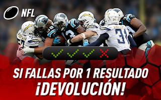 """sportium NFL: Combinada """"con seguro"""" semana 11"""