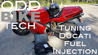 Odd Bike Tech YouTube Video Tuning Ducati Motorcycle Fuel Injection