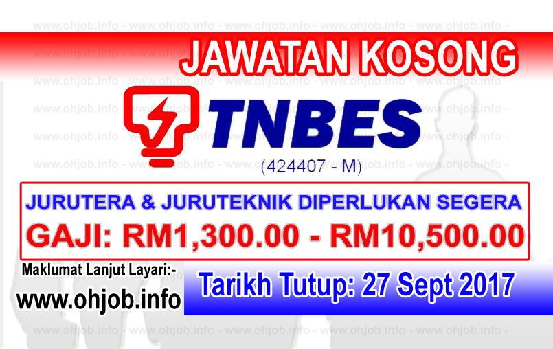 Jawatan Kerja Kosong TNBES - TNB Energy Services logo www.ohjob.info september 2017
