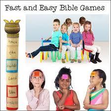 Kumpulan Bahan Mengajar Sunday School Kumpulan Games Alkitab
