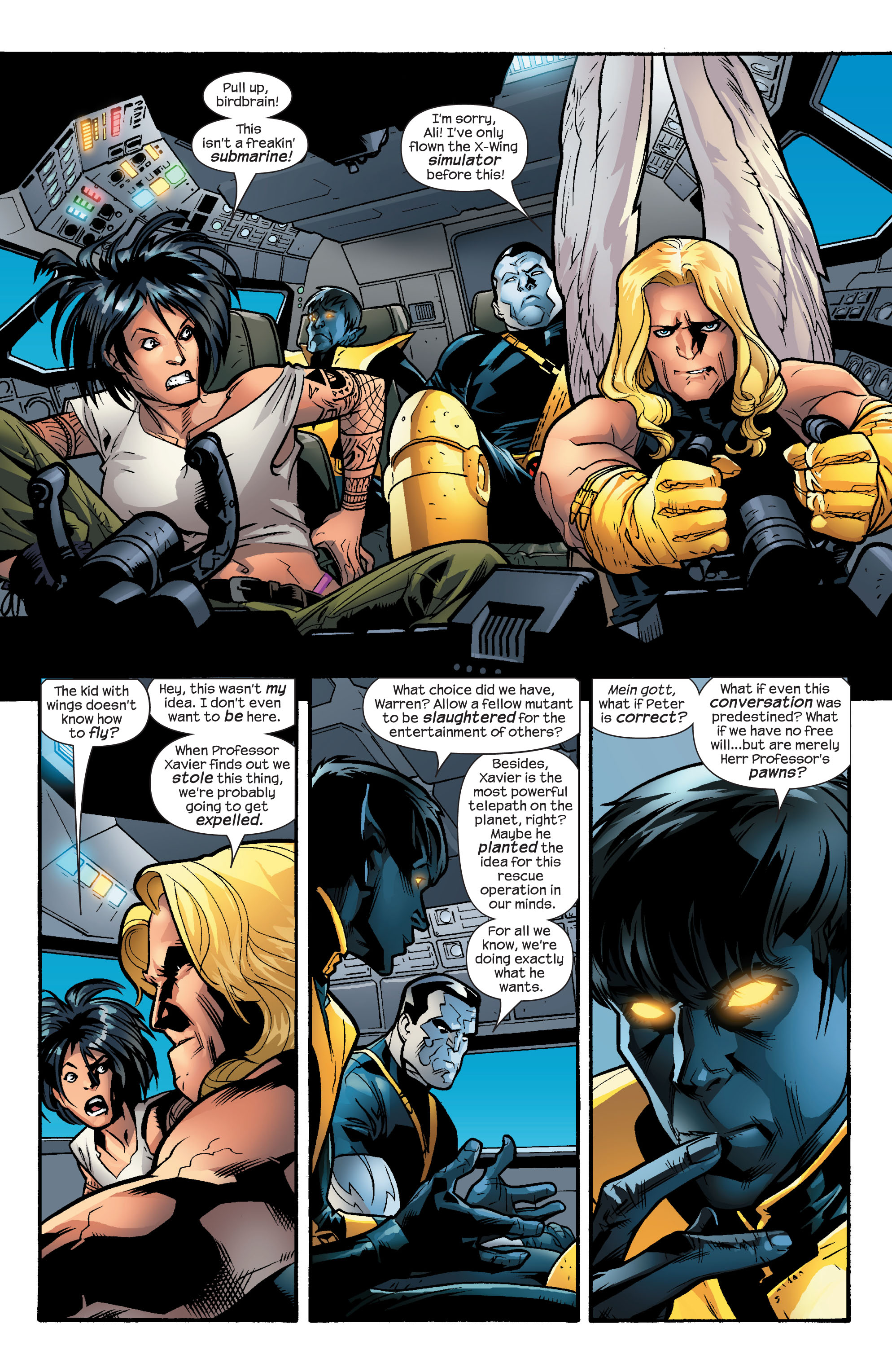 Read online Ultimate X-Men comic -  Issue #55 - 3