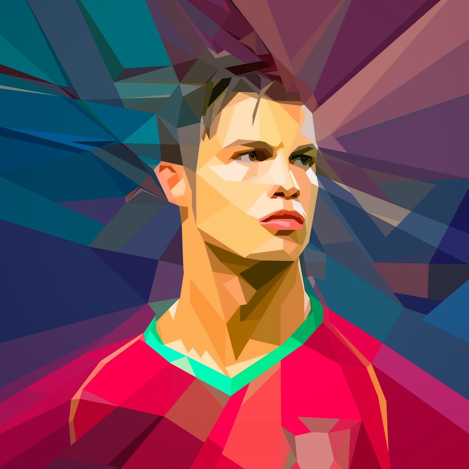 Gambar Kartun Lucu Pemain Bola Dunia