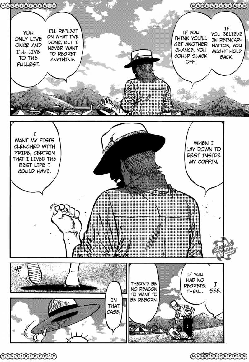 Hajime no Ippo - Chapter 1156