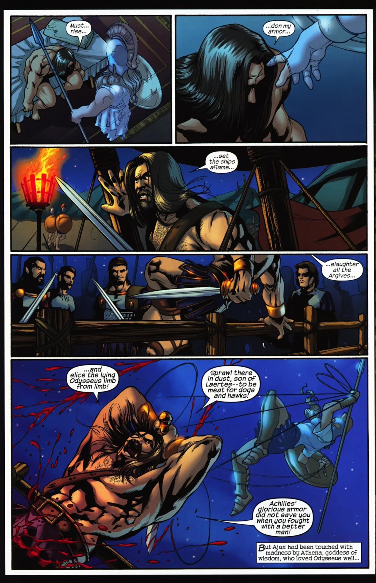 Read online Trojan War comic -  Issue #4 - 8