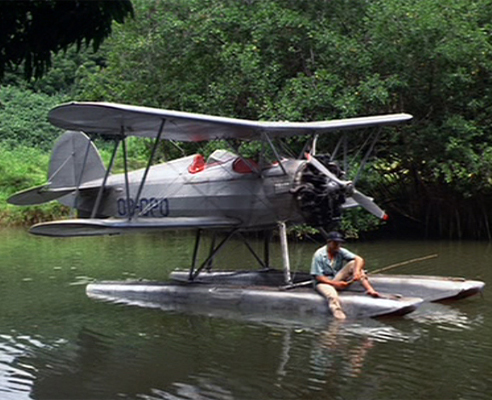 the waco plane from raiders