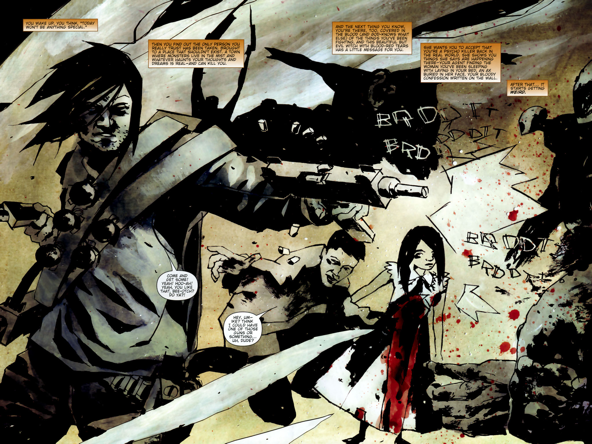 Read online Silent Hill: Dead/Alive comic -  Issue #3 - 5
