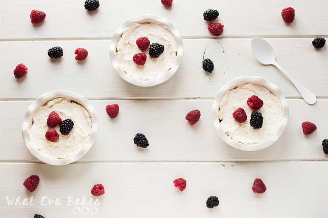 Tartaletas de mascarpone y frutos rojos