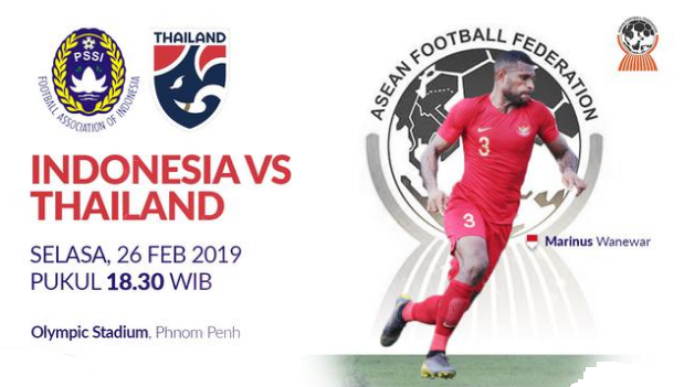 Jadwal Final Piala AFF 2019 -Timnas Indonesia U-22 Vs Thailand