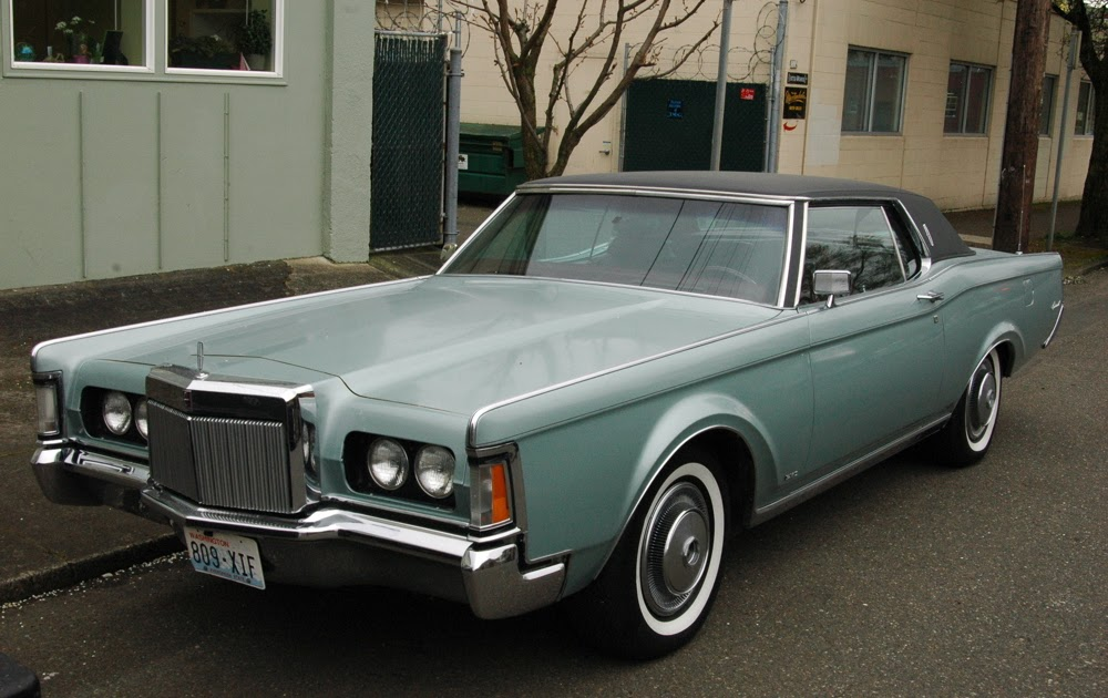 Classic cars: 1970 Lincoln Continental  Classic cars: 1...