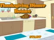 In this simple strategy game, you must bounce each #Thanksgiving dish from kitchen to table with tray in-hand! #ThanksgivingGames #OnlineGames