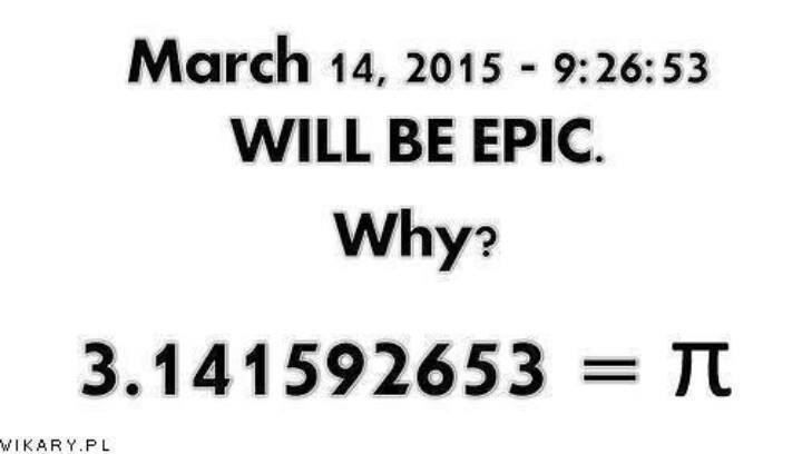 Alohamora: Open a Book: An Epic Pi Day 3.141592653 aka 3