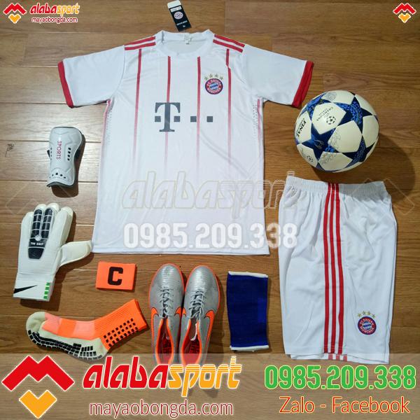 Áo CLB Bayern 2019 màu trắng hot
