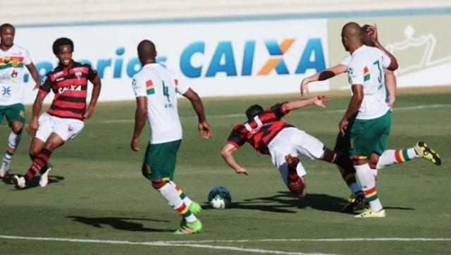 No Serra Dourada, Sampaio sofre goleada para o Atlético Goianiense