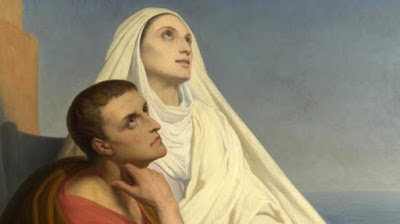 Saint Augustine of Hippo with Saint Monica