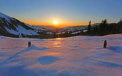 sun rising over mountains widescreen resolution hd wallpaper