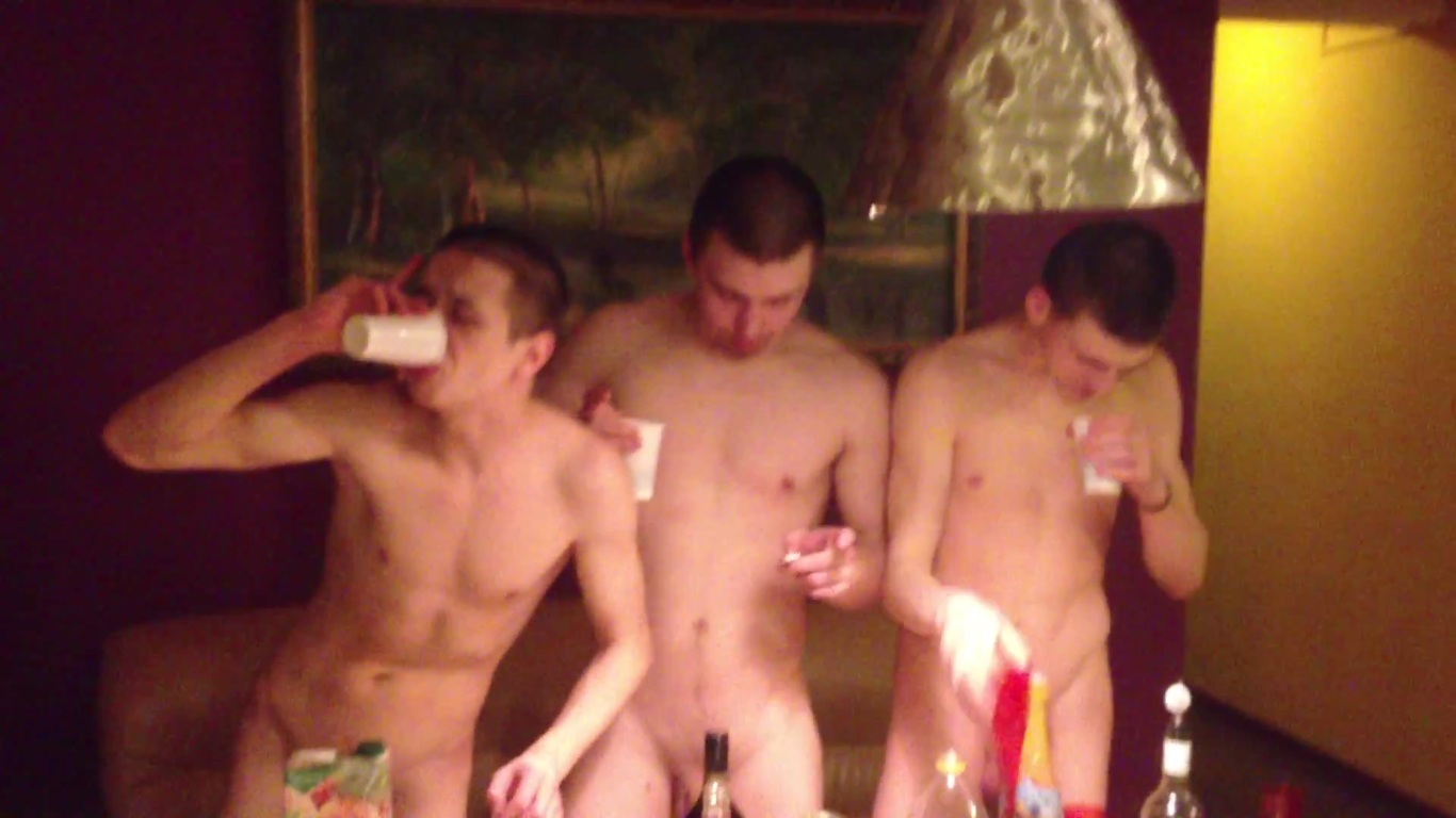 twinks drinking naked