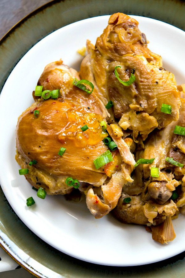 Slow Cooker Orange Chicken from A Cultivated Nest