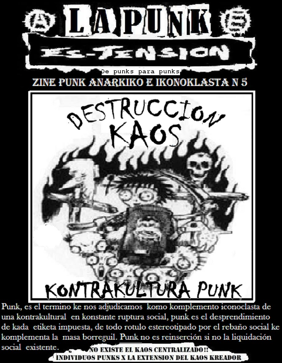 LA PUNK ES TENSION N5