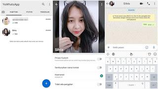 Cara Mengubah Tema Whatsapp Android Seperti IPHONE Terbaru